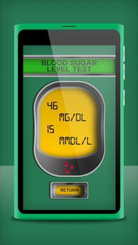 Blood Sugar Checker Test Prank screenshot 3