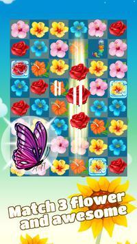 Flower Crush - Match 3 screenshot 5