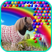 Bubble Little Pony Worlds icon