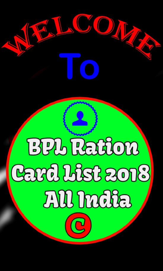 BPL Ration Card List 2018 - All India for Android - APK Download