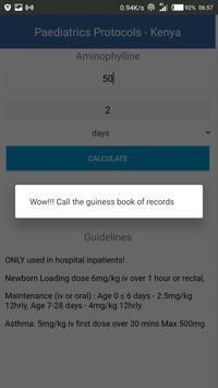 Kenya Paediatric Protocols apk screenshot