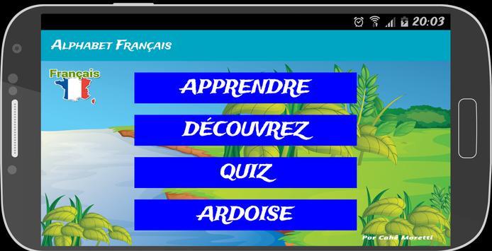 Alfabeto Francês (Infantil) apk screenshot