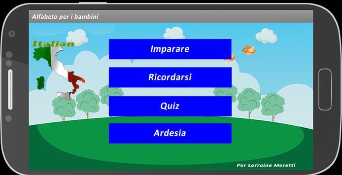 Alfabeto Italiano ( Infantil ) screenshot 10