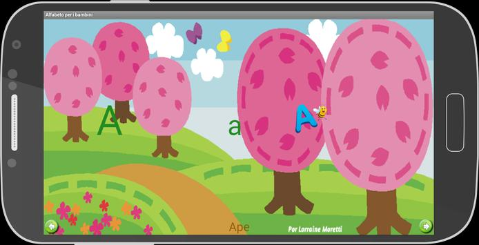 Alfabeto Italiano ( Infantil ) screenshot 1