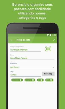 Muambator: Rastreio de Pacotes apk screenshot