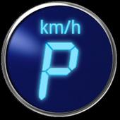 Digital speedometer: Digivel icon