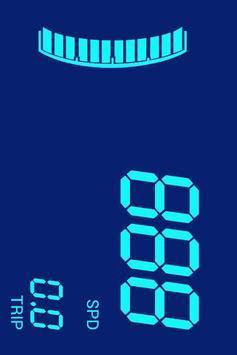 Digital speedometer: Digivel poster