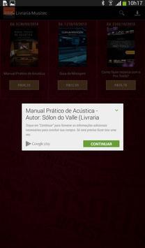Livraria Música e Tecnologia apk screenshot