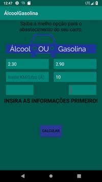 ÁlcoolGasolina screenshot 3