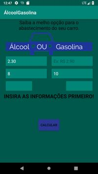 ÁlcoolGasolina screenshot 5