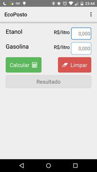 EcoPosto - Etanol ou Gasolina poster