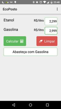 EcoPosto - Etanol ou Gasolina screenshot 2