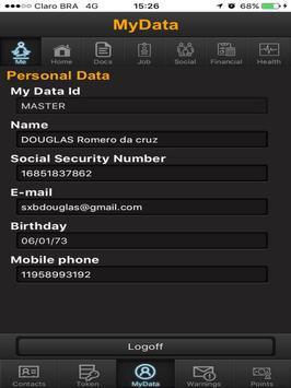 MyData English My Data apk screenshot