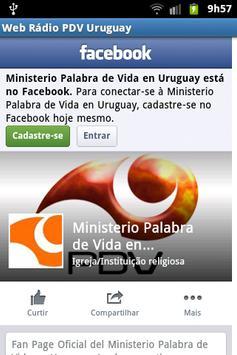 Web Rádio PDV Uruguay screenshot 3