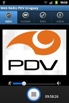 Web Rádio PDV Uruguay poster