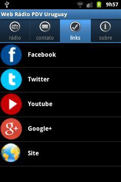 Web Rádio PDV Uruguay screenshot 1