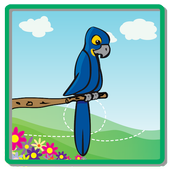 Parrot Tired icon