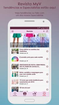 MyV - Meu Vestido dos Sonhos apk screenshot