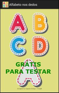 Alfabeto nos dedos - Grátis ポスター