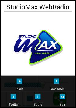 StudioMax Rádio apk screenshot