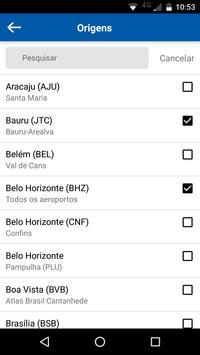 Melhores Destinos - Passagens aéreas promocionais apk imagem de tela