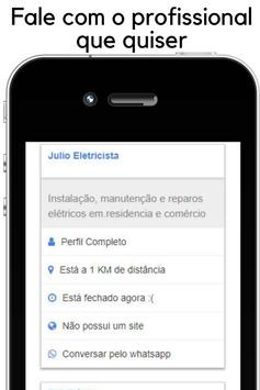 Encontre profissionais e clientes - App de serviço screenshot 1