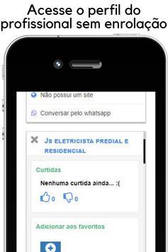 Encontre profissionais e clientes - App de serviço screenshot 2