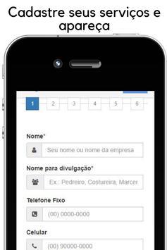 Encontre profissionais e clientes - App de serviço screenshot 3