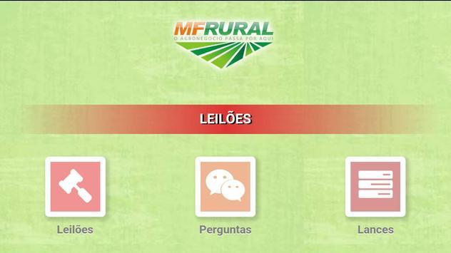 MF Rural Leilões apk screenshot