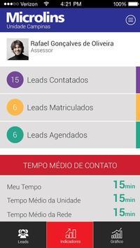 LeadMachine Microlins apk screenshot