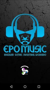 EPOMUSIC - Brazilian Gothic & Industrial Web Radio poster
