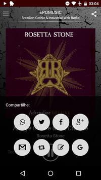 EPOMUSIC - Brazilian Gothic & Industrial Web Radio screenshot 3