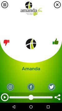 Amanda FM screenshot 1