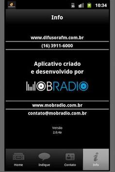Difusora FM screenshot 1