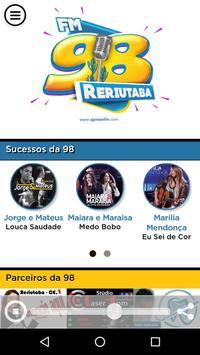98 FM DE RERIUTABA poster