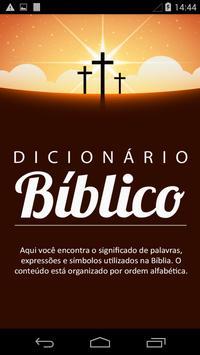 Dicionário Bíblico poster