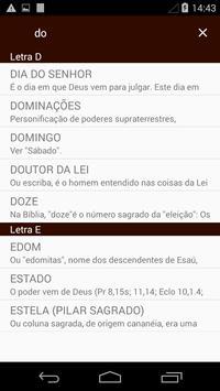Dicionário Bíblico screenshot 1