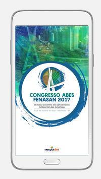 Congresso ABES / Fenasan 2017 poster
