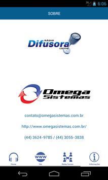 Rádio Difusora AM -Três Passos screenshot 3