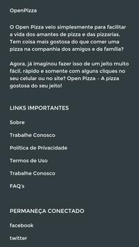 OpenPizza Test screenshot 2