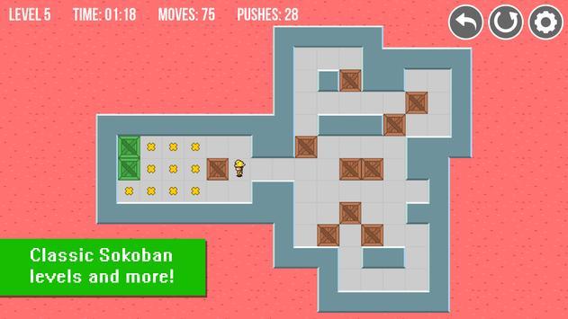 Sokoban Original & Extra: Free apk screenshot