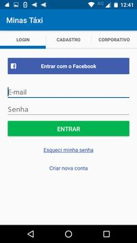 Minas Táxi screenshot 1