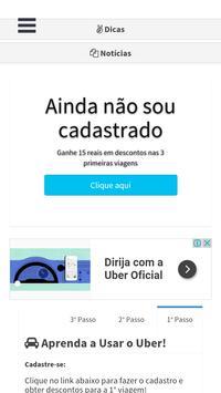 Desconto para Uber poster