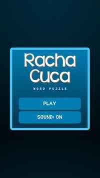 Racha Cuca Word Puzzle poster