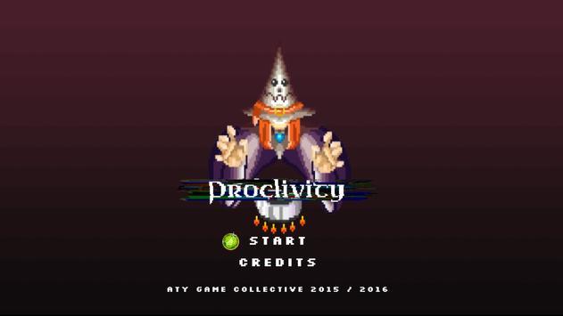Proclivity poster