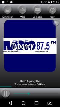 Radio Tupancy Fm 87,5 mhz poster