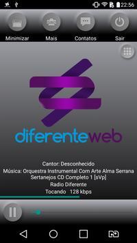 Diferente Web poster
