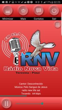 Rádio Nova Vida apk screenshot