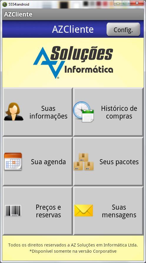 AZCliente poster