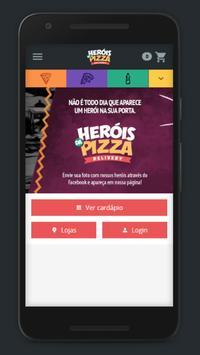 Heróis da Pizza poster